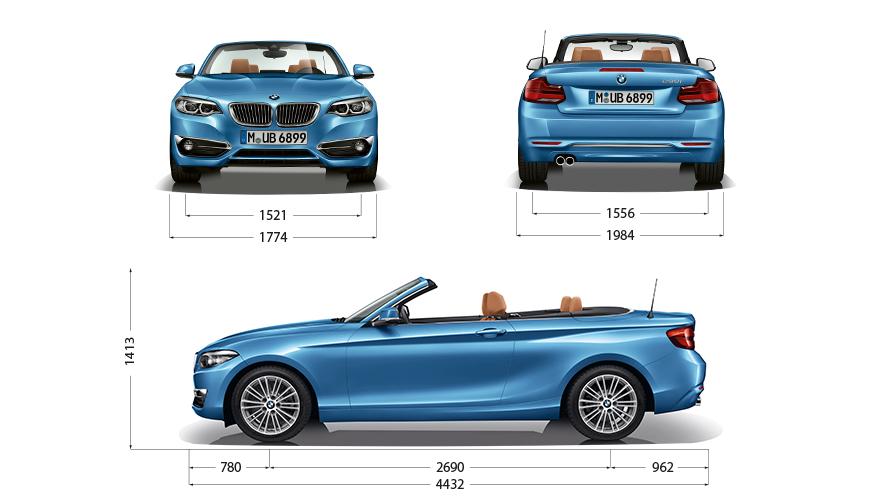 Technische Daten BMW 2er Cabrio