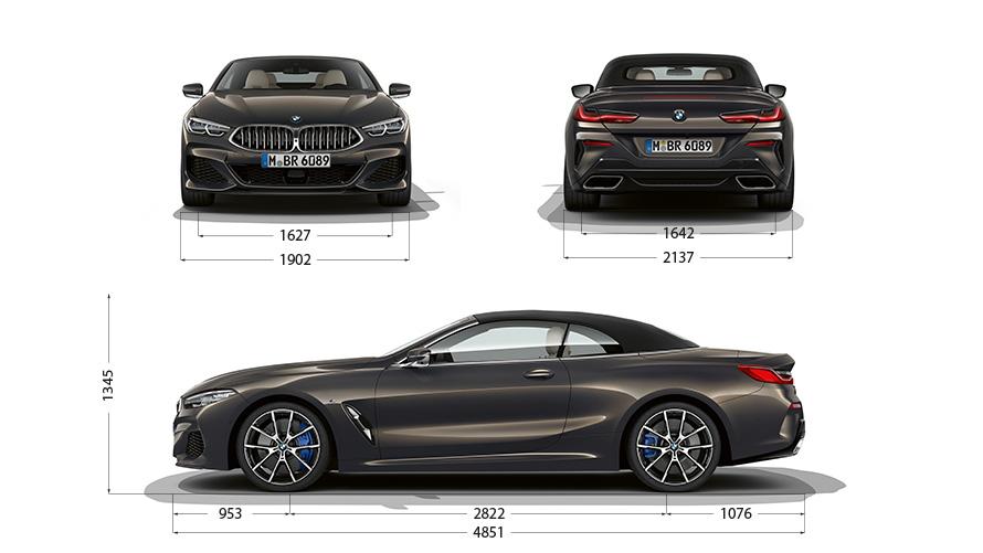 Technische Daten BMW 8er Cabrio