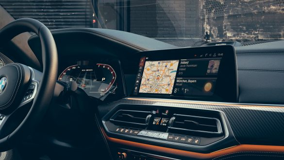BMW X6 12,3'' Bildschirm