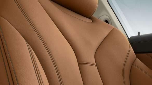 BMW 8er Coupé Individual Lederausstattung 'Merino' Cognac