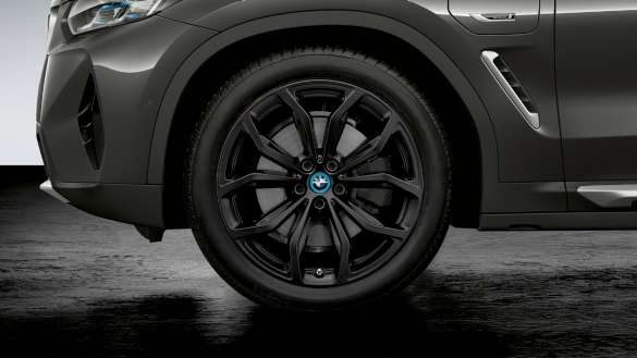 BMW X3 G01 2021 20'' BMW Leichtmetallrad Y-Speiche 695 Jet Black matt