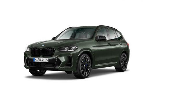 BMW X3 M40i G01 LCI Facelift Dreiviertel-Frontansicht