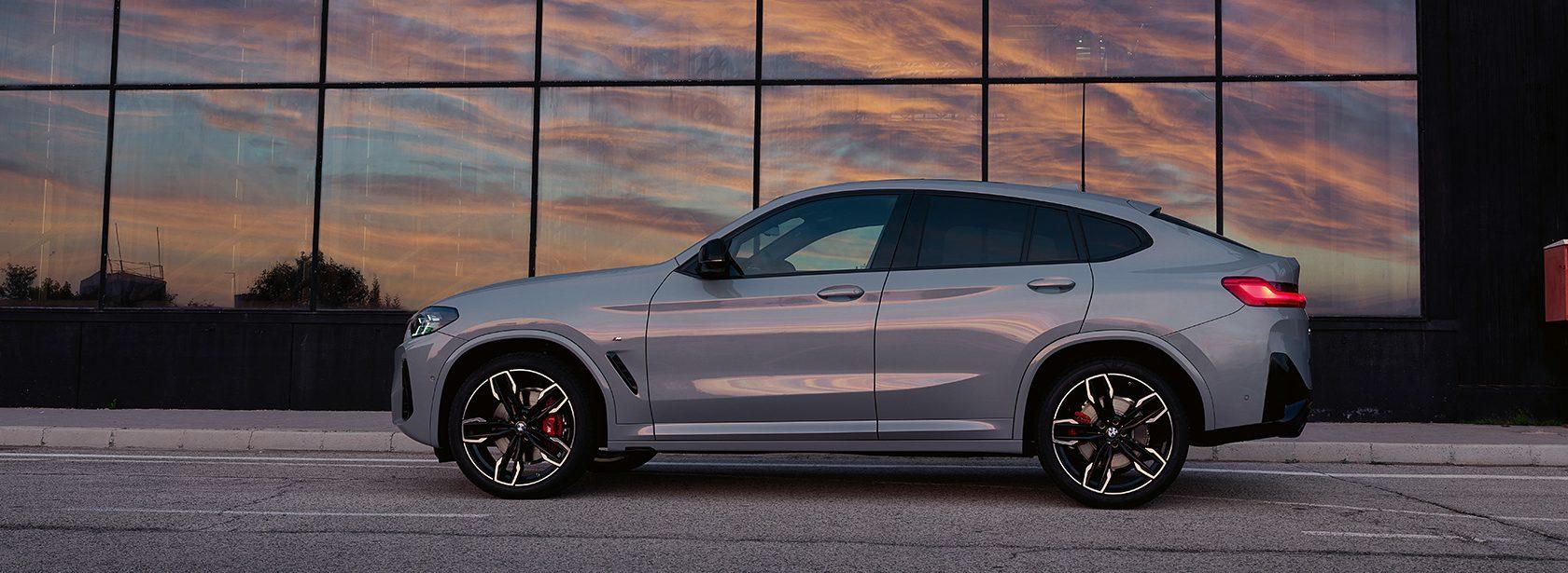 BMW X4 G02 Brooklyn Grau Seitenansicht 2021