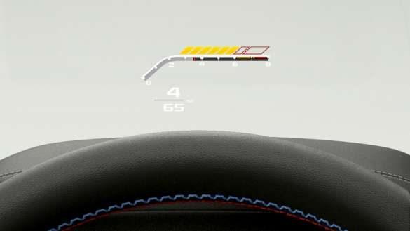 BMW X3 M Automobile F97 G01 LCI Facelift 2021 BMW Head-Up Display