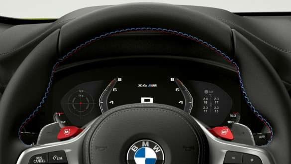 BMW X4 M Automobile F98 LCI Facelift 2021 M spezifische Instrumentenkombination